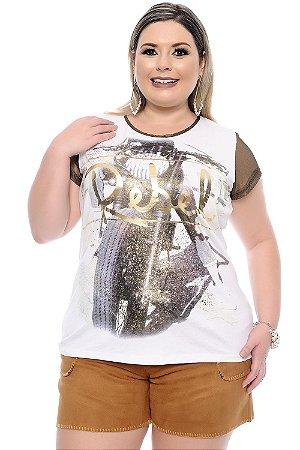 Blusa Plus Size Jane Morris