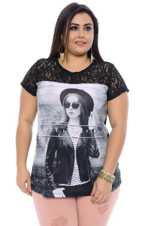 Blusa Plus Size Beverly