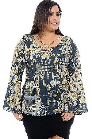 Blusa Plus Size Claire