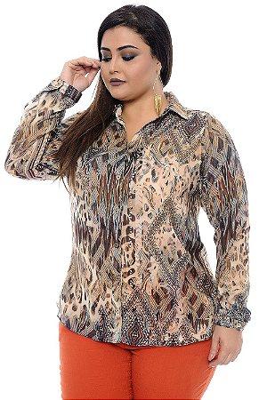 Camisa Plus Size Imelda May