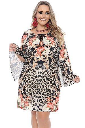Vestido Plus Size Mia Farrow