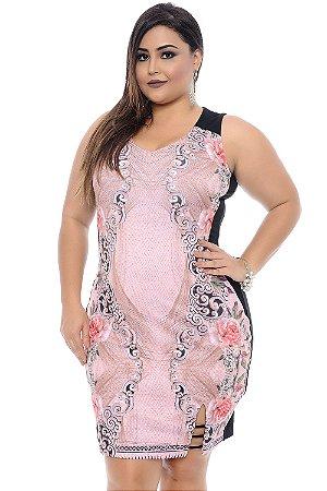 Vestido Plus Size Pontti