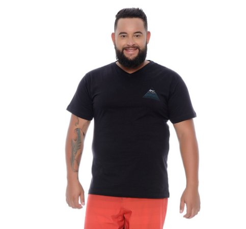 Camiseta Masculina Plus Size José