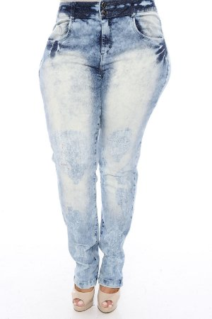 Calça Skinny Plus Size Romy