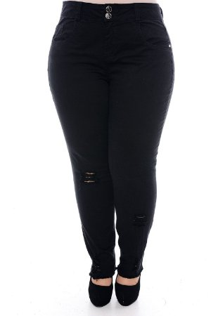Calça Skinny Plus Size Kéfera