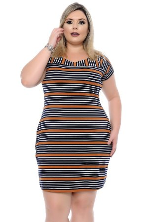 Vestido Plus Size Elis