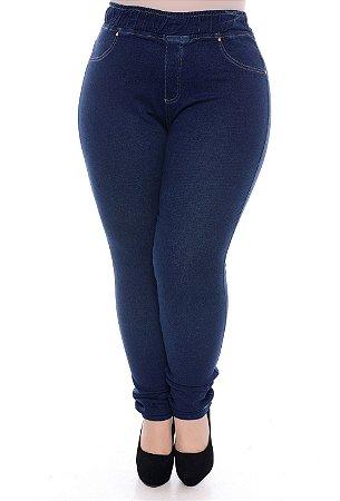 Calça Plus Size Legging Jeans