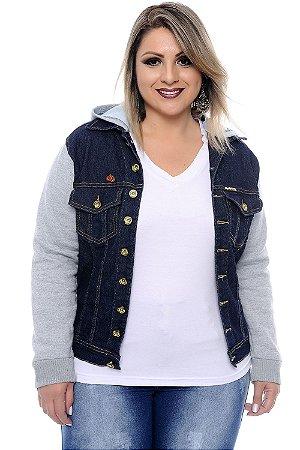 Jaqueta Jeans Plus Size Velma