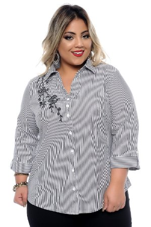 Camisa Plus Size Margie