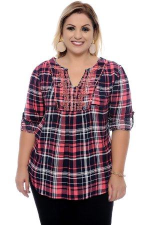 Blusa Plus Size Doreen