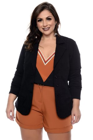 Blazer Plus Size Madalyn