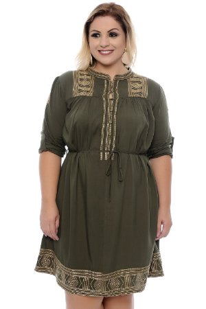 Vestido Plus Size Dasha
