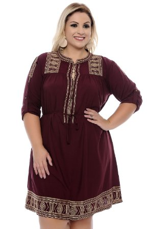 Vestido Plus Size Lenora