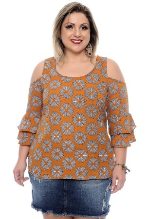 Blusa Plus Size Samiya