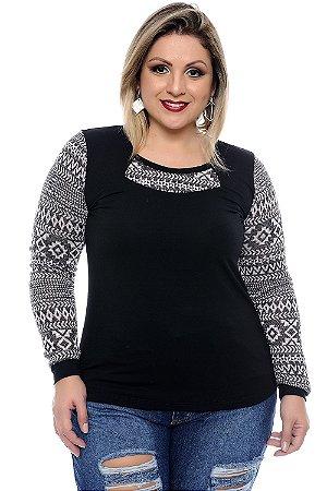 Blusa Plus Size Sônia