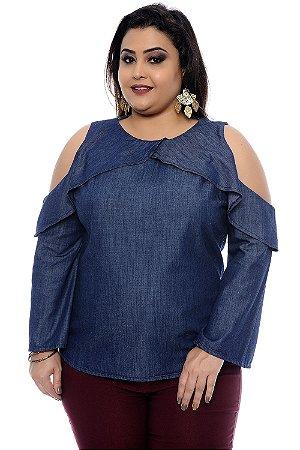 Blusa Plus Size Gles