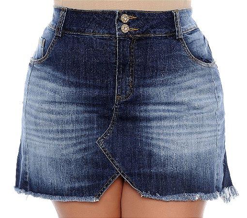 Saia Jeans Plus Size Lôla