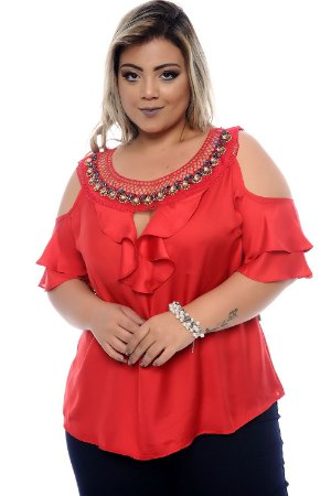 Blusa Plus Size Gloria
