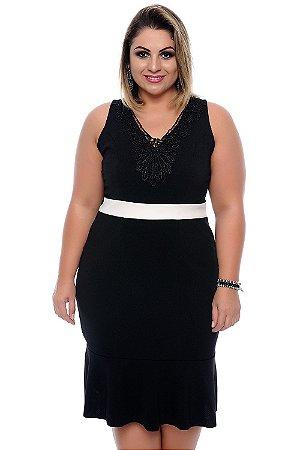 Vestido Plus Size Baema