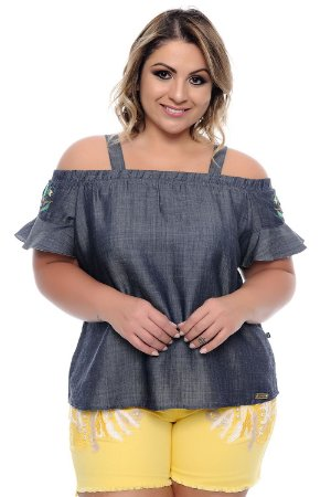 Blusa Plus Size Zilá
