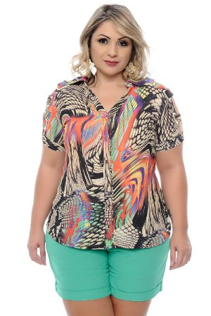 Camisa Plus Size Francielle