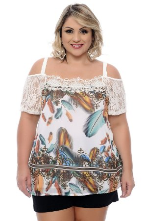 Blusa Plus Size Joy