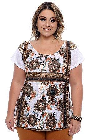 Blusa Plus Size Caitlin