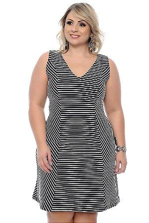 Vestido Plus Size Flaviana