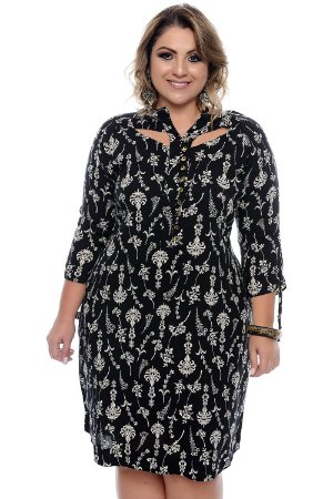 Vestido Plus Size Analy