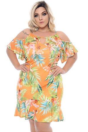 Vestido Plus Size Helane