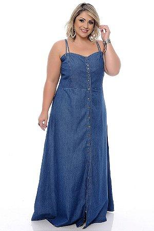 Vestido Jeans Plus Size Malvina