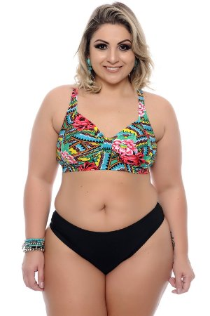 Conjunto Biquíni Plus Size Mermaid