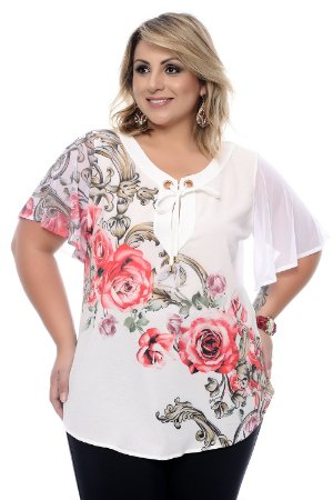 Blusa Plus Size Angeline