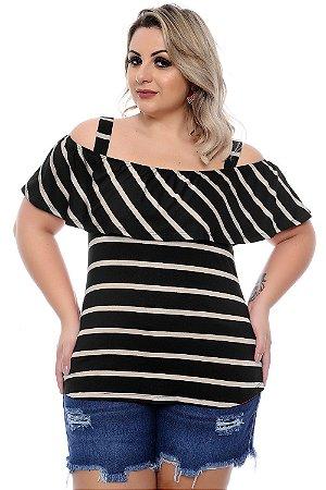 Blusa Plus Size Micheline