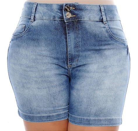 Shorts Jeans Plus Size Veranice