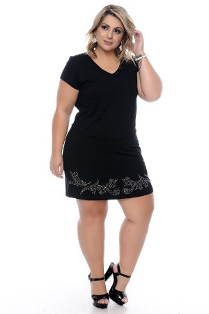 Vestido Plus Size Brunnah