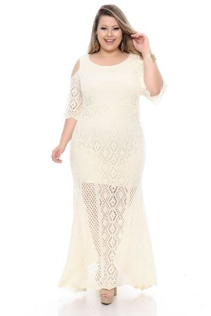 Vestido Plus Size Indra