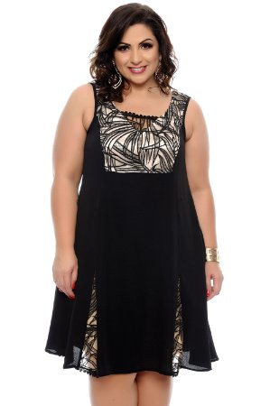 Vestido Plus Size Abnara