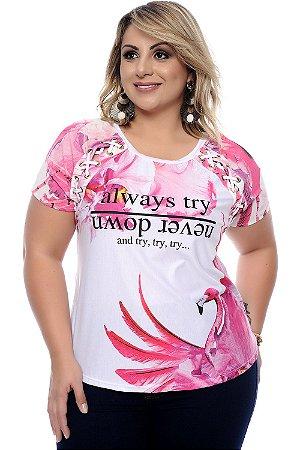 Blusa Plus Size Uyara