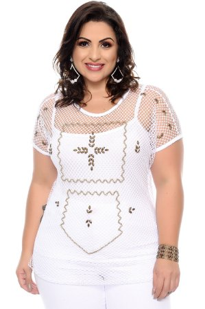 Blusa Plus Size Meredith