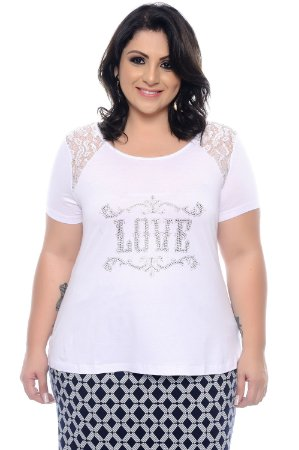 T-shirt Plus Size Polínea