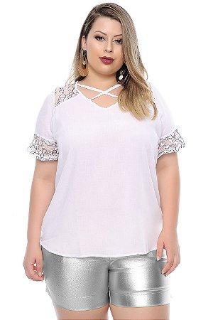 Blusa Plus Size Actéia
