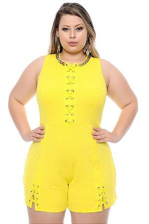 Macaquinho Plus Size Márica