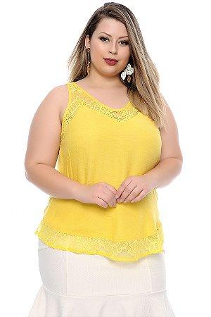 Blusa Plus Size Ismênia
