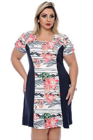 Vestido Plus Size Livania