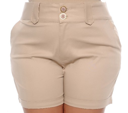 Shorts Plus Size Giley