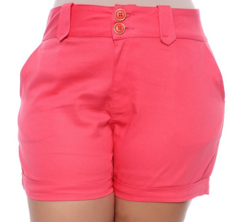 Shorts Plus Size Lanay