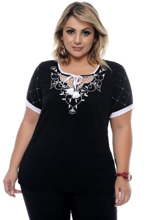 Blusa Plus Size June