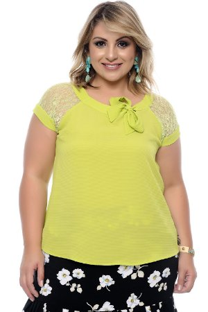 Blusa Plus Size Verena