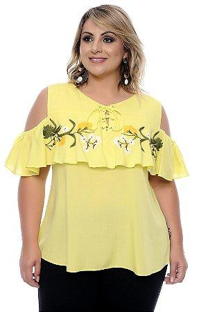 Blusa Plus Size Fiorela